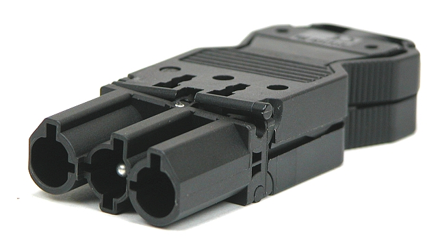 Connector 3-poilg 20A 250V schroef male